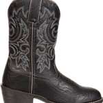 "Kids Western Black 8"" Boot Durango"