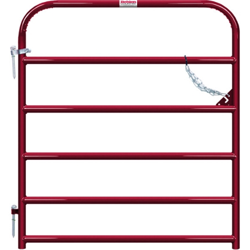 "Gate Pipe 4' 6 Bar 50X1-5/8"" Red"