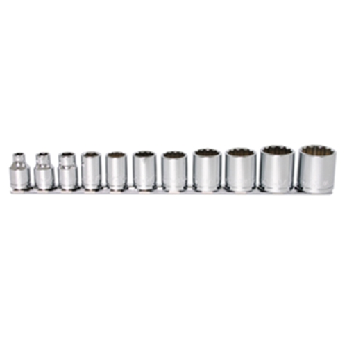 "Socket Set 3/8"" Drive Sae 13 pc."